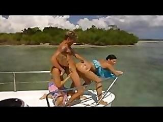 Group Fucking In A Pleasure Boat