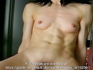 Skinny Ripped Muscular Asian