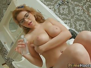 Ass, Blowjob, Booty, Busty, Deepthroat, Fucking, Glasses, Natural, Slut, Tit Fuck