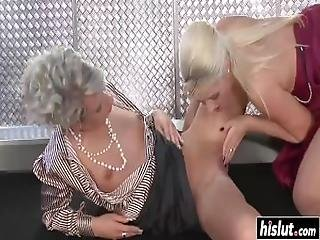 Old Ladies Licked Each Other%27s Twat