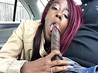 Sucking My Bestfriebds Bbc In The Car Until He Cumshots In My Mouth