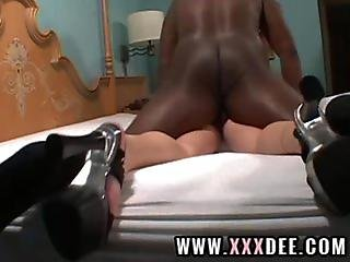 Double fucked mature action