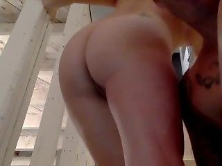 She Gets A Huge Creampie In Her Little Pussy