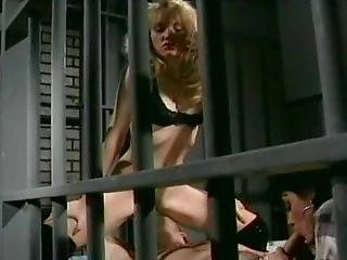 Jeanna Fine & Alicyn Sterling Prison Threesome