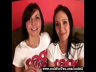 Melanie Scott Vs. Alexa Jordan - Cock For Two