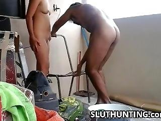 Hidden Camera And Quick Fuck With Colleague Wife! Must See! 10 Min