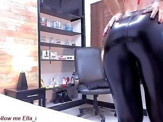 Ella_pridee Leather Leggings