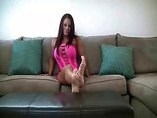 Woship Feet And Cum All Over Yourself .joi