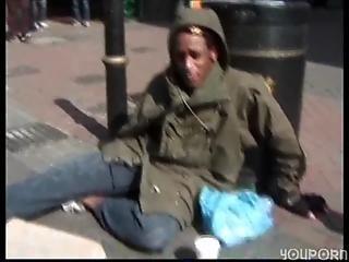 Hot Blonde Girl Fucks Homeless Man With Huge Cock On Www.hardvideostube.com