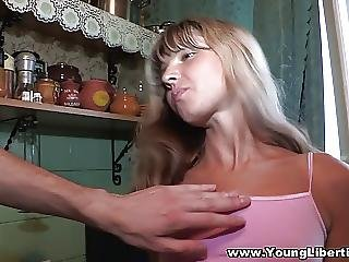 Amateur, Blonde, Cream, Creampie, Fucking, Pov, Table Fuck, Teen, Young