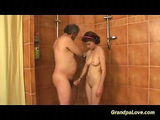 Grandpa Fucking A Innocent But Bigtit Teenie  Girls 28 At The Gym Class