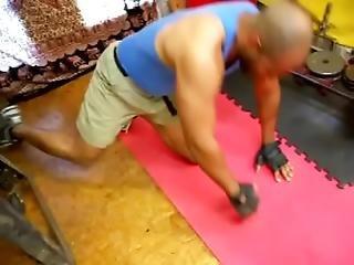 Fuck In Sneakers In The Gym Part 1 - C4s.com Slash 89232 Nataliaandarami Real Interracial Couple Por