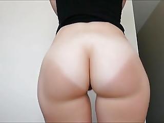 White Bubble Butt Twerk N Strip