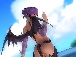 Dead Or Alive 5 Ayane Hot Teen Is A Horny Naughty Whore Who Exposes Her Ass