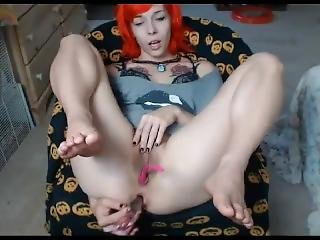 18yo Teen Plays With Pussy And Ass 1