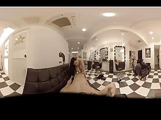 Vr Porn Special Hairdresser. New Treatment Blowjob