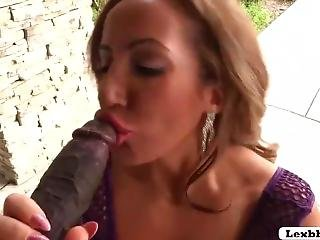 Hot Richelle Ryan Loves Riding Lexington Huge Black Cock