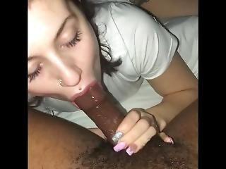 My Neighbors Daughter @lovelyy.bianca On Snapchat Sucking My Bbc Again