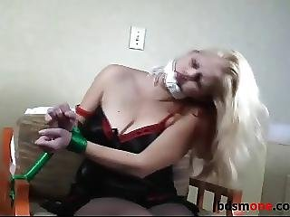 Girls Tied Up To Chairs Compilation