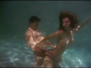 минет, чертов, бассейн, сексуальный, секс, подводный