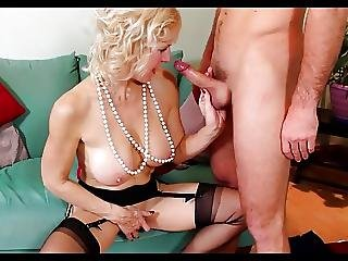 Mature Lady And Younger Lover