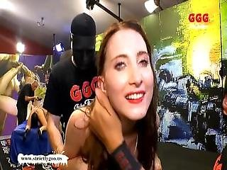 Little Lia Louise Is Back For More Monster Cock - German Goo Girls