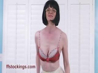 undertøy, voksent, truser, strømpebukse, tisse, solo, strømpe, stripping, stramt