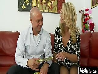 Simone Sonay And Another Babe Moan While A Kinky Guy Fucks Them