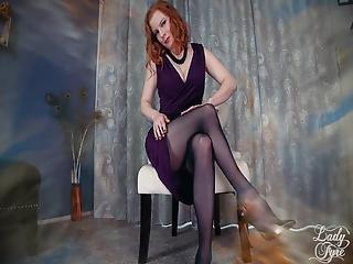 Therapist Deconstructs Your Leg Fetish Lady Fyre Femdom