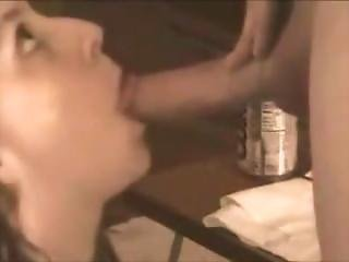 She Gets A Messy Facial On Hidden Cam