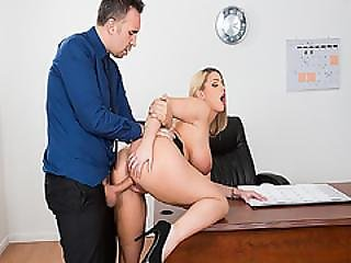 Boss Brooklyn Chase Got Her Pussy Fuck Hard Doggystyle