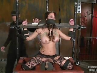 Girl Machine Fucked Shocked And Gagged