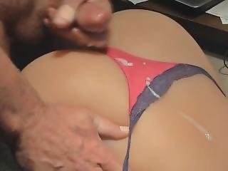 My Toy With A Sexy Little Satin Thong. Like If You Want More Of My Toy!