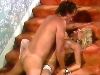 Busty Blonde Gets The Full Load