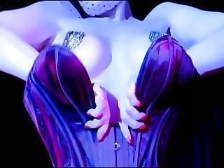 Le Bon Noir Dita Von Teese Burlesque Strip In The Shower