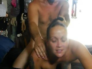 Throats My Cock, Takes It Deep In Her Ass, I Cum On Her Face