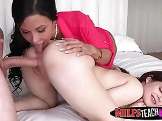 Milf Jewels Teaches Stepdaughters Boyfriend How To Fuck Good