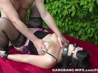 Degrading Gangbangs With Hot Naughty Slutwife
