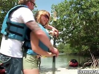 Kirra Lynne Big Booty Taking A Hard Ride On A Large Pole