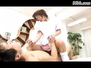 japonské, panna, mladé
