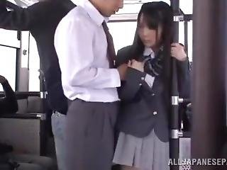 Molested Japanese Girl