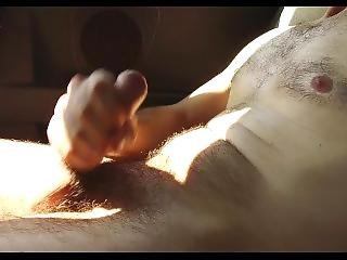 Torture His Cock Into The Car In The Countryside Hot Intense Cumload