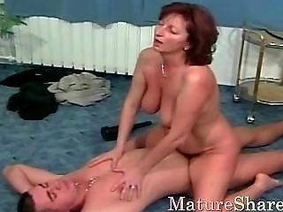 Our Grandma Take A Hard Big Dick