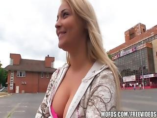 Babe, Big Tit, Blonde, Bombshell, Boob, Cash, Czech, Doggystyle, Flashing, Outdoor, Pov, Public