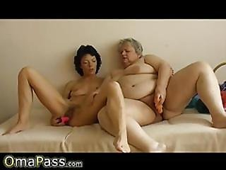 Omapass Bbw Granny Fucked With Toy