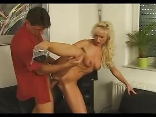 Beautiful Blonde Skinny German Mature Milf Slut Anal Sex Hardcore