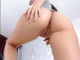 Latina Playing With Her Self Pt2