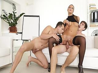 Naomi Bennet Riding Her Fine Tight Coochie On Nick Larsens Dick