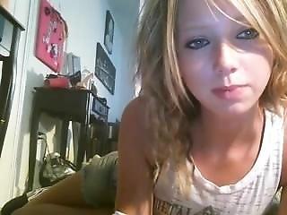 Skinny Blonde Cam Girl C0ckyangel?01