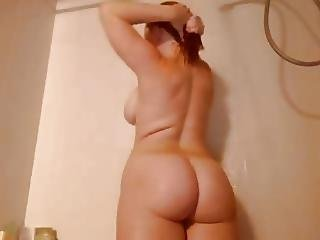 Big Boob, Boob, Cum, Masturbation, Redhead, Sex, Shower, Toys, Webcam